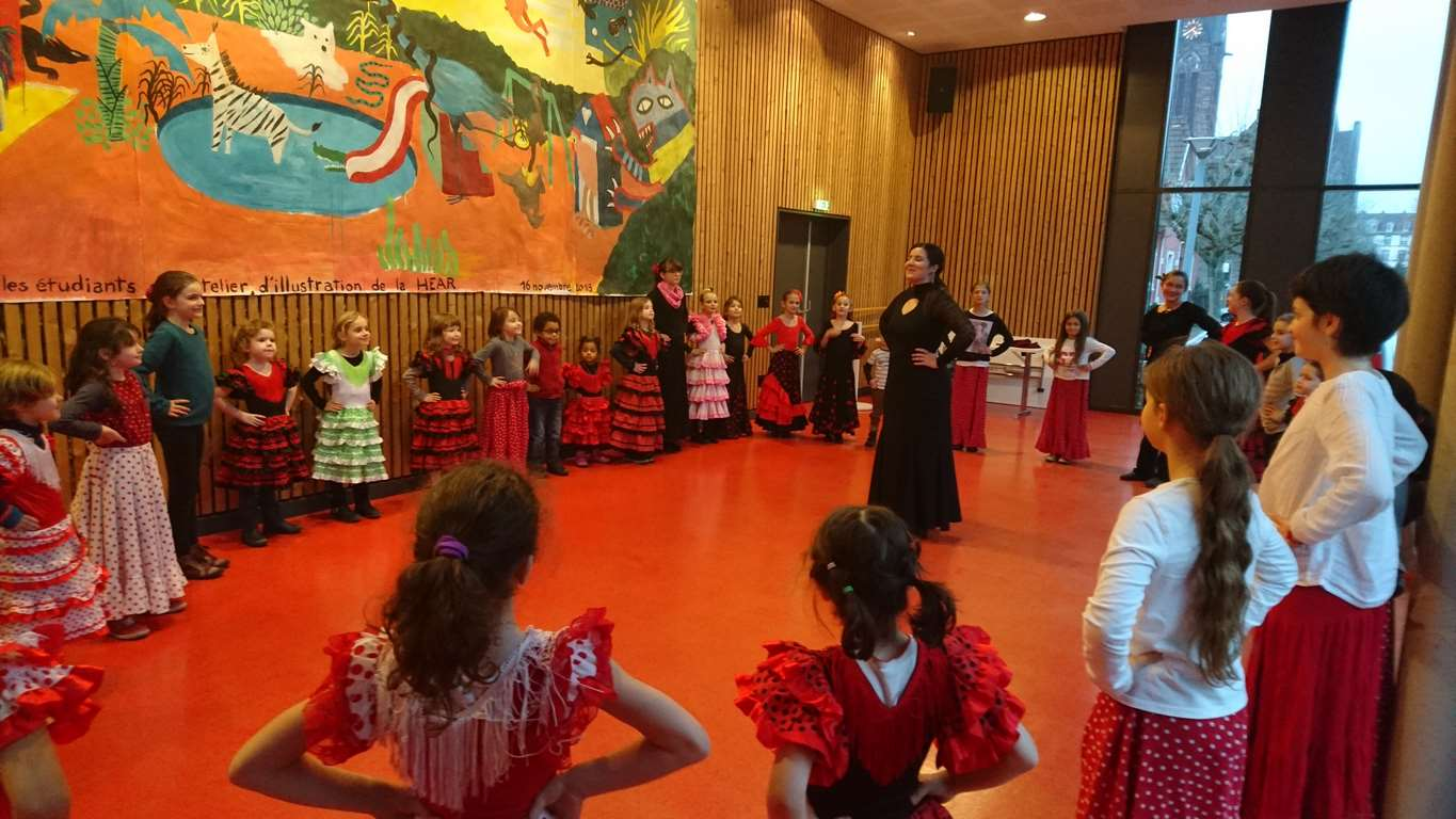 ATELIER D'INITIATION A LA DANSE FLAMENCA